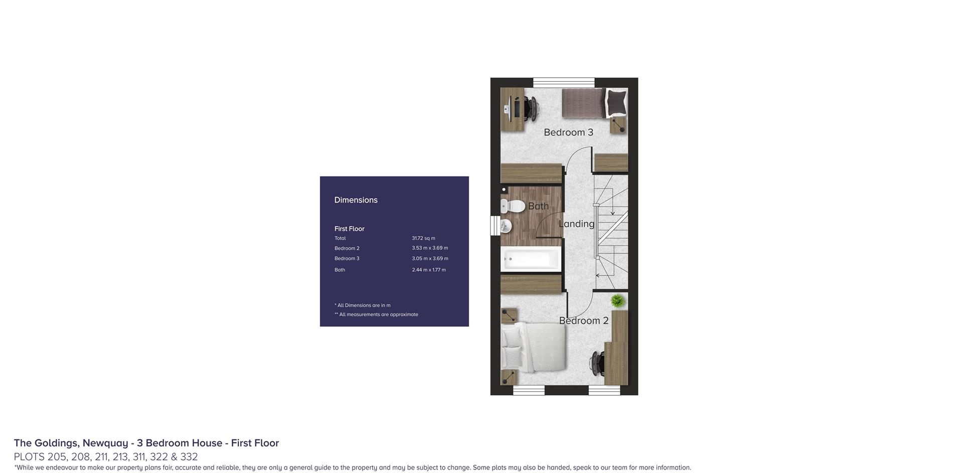 The Goldings, Newquay_Plots 205, 208, 211, 213, 31
